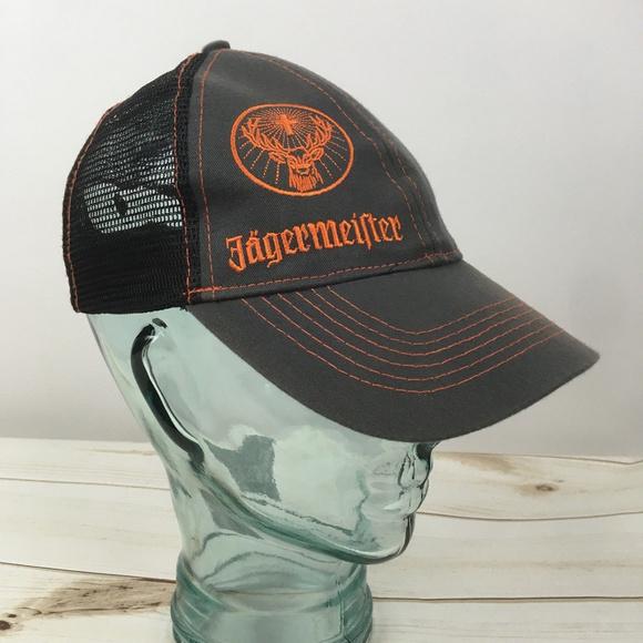 1a33360d41b Jagermeister Other - Jagermeister Snapback Mesh Trucker Hat